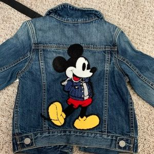 Brand NEW WITH TAGS GAP MICKEY DEMIN JACKET
